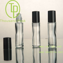TP-3-28 10ml roll on perfume glass bottles with plastic cap