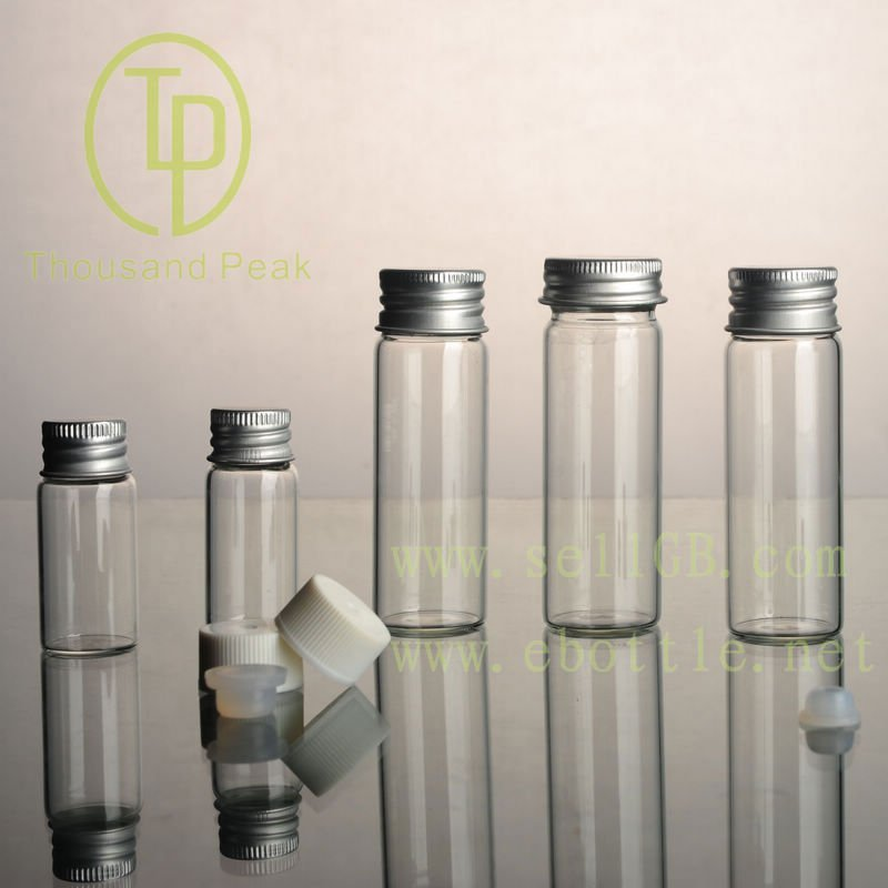 TP-1-07 5ml clear glass vials with cap and stopper