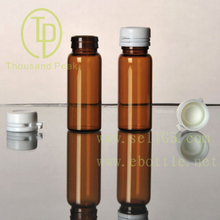 TP-2-07 10ml brown Bayonet bottle with white tearing cap