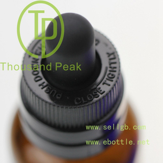 2017 30ml amber glass dropper bottle Plstic Dispensing caps 100% no Leakage