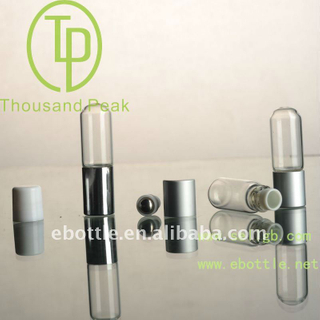 TP-3-21-2 4ml Glass Roll On Bottles with aluminum cover