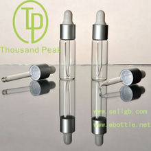 TP-2-10 6ml clearDistribution of glass bottle aluminum ring and a plastic head and droplet plug