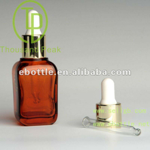 TP2-33-5 essential oil glass bottles 30ml,square glass bottles with dropper