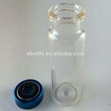 2ml crimp headspace clear vial, flat bottom