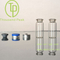 clear/amber pharmaceutical tubular glass vials Type I for injection