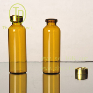 TP-4 Supply 15ml brown penicillin bottle