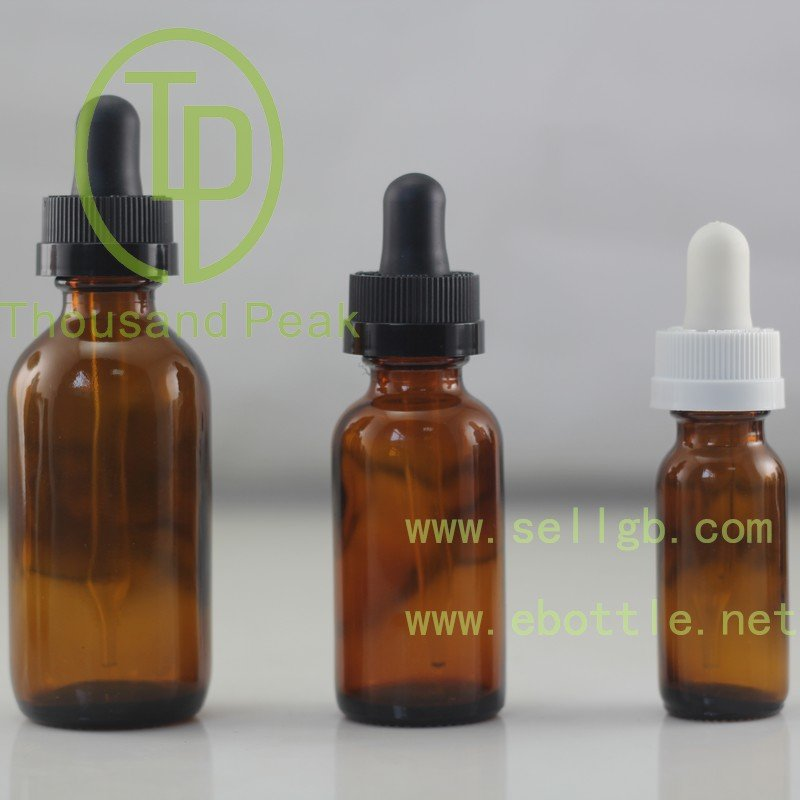 5ml 10ml 15ml 20ml 30ml 50ml 100ml child proof dropper plastic aluminium cap amber glass Essential Oil Bottle with Dropper