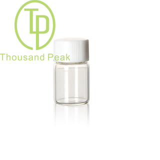 TP-1-03 2ml clear screw-neck glass vials with cap