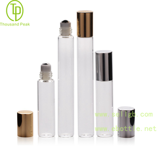 TP-3-23-2 5ml - 10ml clear Roll On Bottles for perfume,essential oils,Skin care
