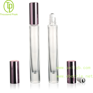 TP-3-31 10ml Round Shape Thick Bottom Roll on perfume bottles